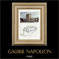 Château Gaillard - Les Andelys (Eure - France) - Donjon
