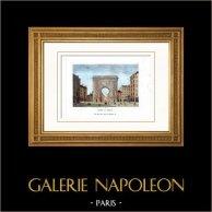 History and Monuments of Paris - Porte Saint Denis