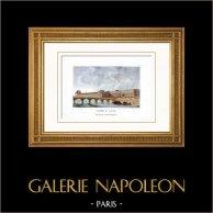View of Paris - Louvre - Seine - Bridge - Pont du Carrousel