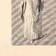 DÉTAILS 03   Costumes de femmes - Statues de la Cathédrale de Chartres - France