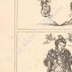 DETAILS 02   Decoration - Illustration - Ancient Rome - Costumes of women - Mode - Fashion - Allegory - 16th Century - XVIth Century (Jost Amman)