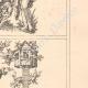 DETAILS 04   Decoration - Illustration - Ancient Rome - Costumes of women - Mode - Fashion - Allegory - 16th Century - XVIth Century (Jost Amman)