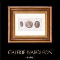 Georges d'Amboise (1460-1510) - Ludovic II Marquis de Saluce (1438-1504) - Léonard de Vinci (1452-1519)