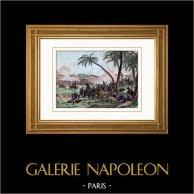 Napoleonic Wars - Napoleonic Campaign in Egypt - Battle of El Zouameh  - Egypt (1800)