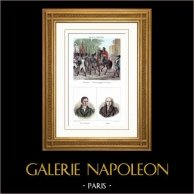 Napoleon Bonaparte, as First Consul - Coup of 18 Brumaire (1799) - Portraits - Lucien Bonaparte (1775-1840) - Louis Gohier (1746-1830)