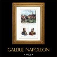 Batalla de Austerlitz (1805) - Retratoss - Hautpoul (1789-1865) - Caulaincourt (1773-1827)