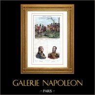 Battle of Austerlitz (1805) - Portraitss - Hautpoul (1789-1865) - Caulaincourt (1773-1827)
