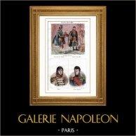 Sacre de Napoléon Ier - Costume du sacre - Maréchal d'Empire - Connétable - Portraits - Murat (1767-1815) - Jérôme Bonaparte (1784-1860)