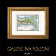 Carte - Royaume de Naples - Italie