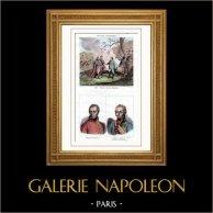 Batalla de Austerlitz - Encuentro de Napoleón I y Francisco II de Austria (1805) - Retratos - Francisco II - Archiduque Fernando