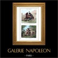 Napoleon Bonaparte - Coup of 18 Brumaire (1799) - House - Street Chantereine - Paris - Military Uniform - Gendarmerie d'Elite
