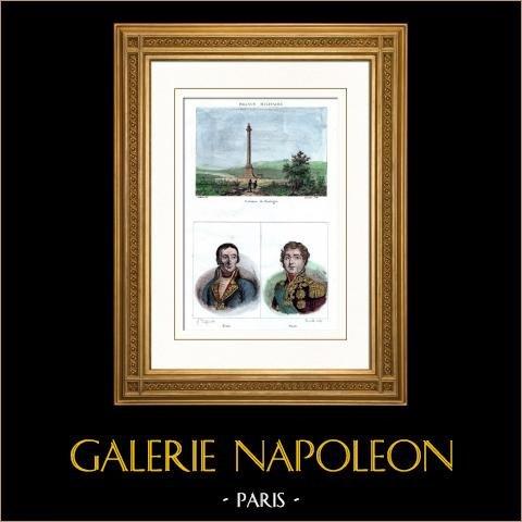 Napoleon i - Kolumna Grande Armée - Boulogne-sur-mer (Francja) - Portrety - Bruix (1759-1805) - Soult (1769-1851) |