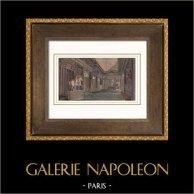 Palace of Versailles - Appartement du Roi - Salon de l'Oeil-de-Boeuf