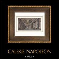 Palacio de Versalles - Versailles - Galería de los Espejos - Gran Galería - Galerie des Glaces - Grande Galerie