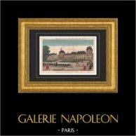 Vista de París - Palacio de las Tullerías - Jardín de las Tullerías (Francia)