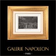 French Revolution - 1789 - Versailles - Tennis Court Oath - Bailly - Mirabeau