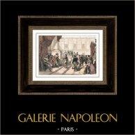 Révolution Française - Napoleon Bonaparte est reçu par le Directoire (10 décembre 1797)