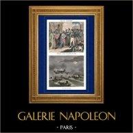 Napoleon Bonaparte Visits the Hospital for the Pestiferous in Jaffa (1799) - Napoleonic Wars - Napoleonic Campaign in Egypt