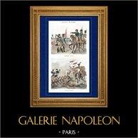 Napoleón Bonaparte - Campaña Napoleónica en Italia - Batalla de Lonato (1796) - Caballos de Frisia