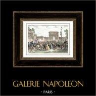 Koalitionskriege - Italien Expedition - Napoleon Bonaparte - Mailand (1796)