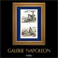 French Revolutionary Wars - Army vs French Army - Napoleon Bonaparte - Italy - Battle of the Bridge of Arcole - 1796