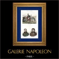Svizzera - Invasione Francese (1797) - Augereau - Ritratti - Gouvion-Saint-Cyr (1764-1830) - Henri Jacques Guillaume Clarke (1765-1818)