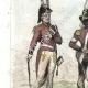 DETAILS 03   Austrian Army - Costume - Uniform - Chevau-Légers - Swiss Regiment of Rovere
