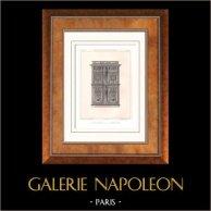 Muebles Antiguos - Arte Francés - Cabinet - Ornamentos - Jacques Androuet du Cerceau - Armario