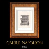 Muebles Antiguos - Arte Francés - Aparador - Dressoir - Madera Tallada
