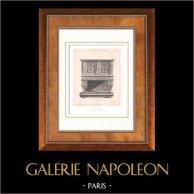 Muebles Antiguos - Arte Francés - Aparador - Dressoir