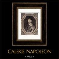 Retrato de Richelieu (1585-1642) - Philippe de Champaigne