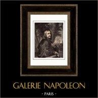 Retrato de Philippe de Champaigne (1602-1674) - Pintor Francés de origen brabanzón - Clasicismo