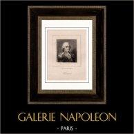 Portrait of Jean-Pierre Claris de Florian (1755-1794) - French Fabulist