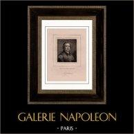 Portrait de Jean Baptiste Massillon (1663-1742) - Evêque prédicateur