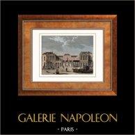 Vue de Paris - Palais Royal (France)