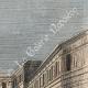 DÉTAILS 05   Vue de Paris - Gare de Chemin de fer vers Versailles - Saint-Germain-en-Laye - Rouen (France)