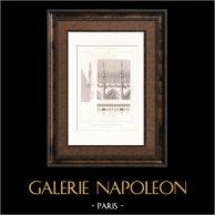 kathedraal van Reims - Balustrade - Galerie de la Nef (Frankrijk)