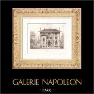 Villa in Auteuil - Rue Lafontaine - Architect Paul Sedille - Paris (France)