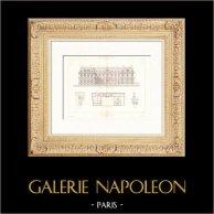 Hotel Rue de Chaillot in Paris - Architekt Charles Rohault de Fleury (Frankreich)