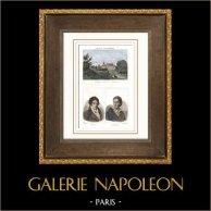 Castle of Arc-en-Barrois (Haute-Marne - France) - Portraits - Étienne-Nicolas Méhul (1763-1817) - Diderot (1713-1784)