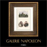 Château de Gisors (Eure - France) - Portraits - Nicolas Poussin (1594-1665) - Jacques Charles Dupont de l'Eure (1767-1855)