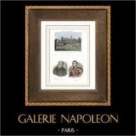 Bergerie impériale des Landes - Napoléon III - Solferino (Landes - France) - Portraits - Vincent de Paul (1576-1660) - Lamarque (1770-1832)