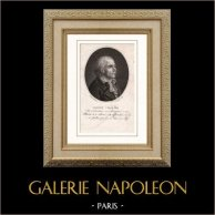 Portret van Marie Joseph Chalier (1747-1793) - Franse Revolutionaire - Guillotine
