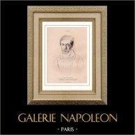 Self-Portret van Félix Emile Garbet (1815-1845)