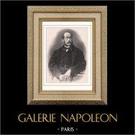 Porträt von Charles Chaplin (1825-1891)