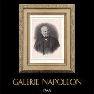Retrato de Adolphe Thiers (1797-1877) - Presidente de la República Francesa