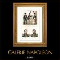 Costume Prussien - Uniforme Militaire - Grenadier - Garde Impériale - Portraits - Maréchal d'Empire et Général de Napoléon - Bochaud - Rome