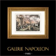 Napoleon Bonaparte - Fire of Moscow - Napoleonic Wars - French Invasion of Russia - Capture of Moscow