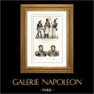 Exército Francês - Tropa Estrangeira Francesa - Retratos - Delzons (1775-1812) - Morand (1771-1835)