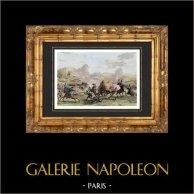 Guerras Napoleónicas - Campanha de Egipto - Batalha perto de Cairo - 1798 (Egito)